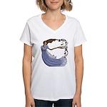 The Princess Women's V-Neck T-Shirt