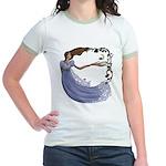 The Princess Jr. Ringer T-Shirt
