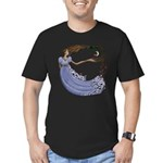 The Princess Men's Fitted T-Shirt (dark)
