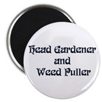 Head Gardener Magnet