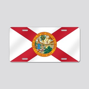 State Flag of Florida Aluminum License Plate