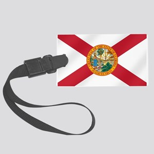 State Flag of Florida Large Luggage Tag