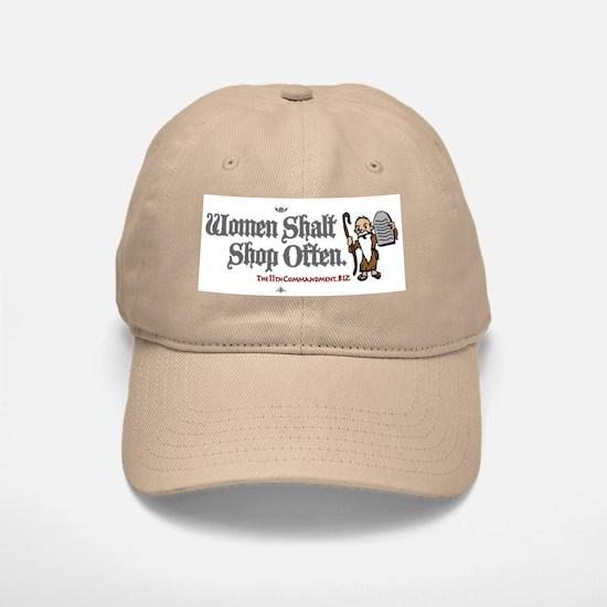 Women Shalt Shop Often Baseball Baseball Cap