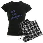 Its The Journey Women's Dark Pajamas
