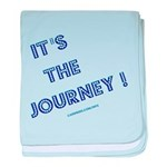 Its The Journey baby blanket