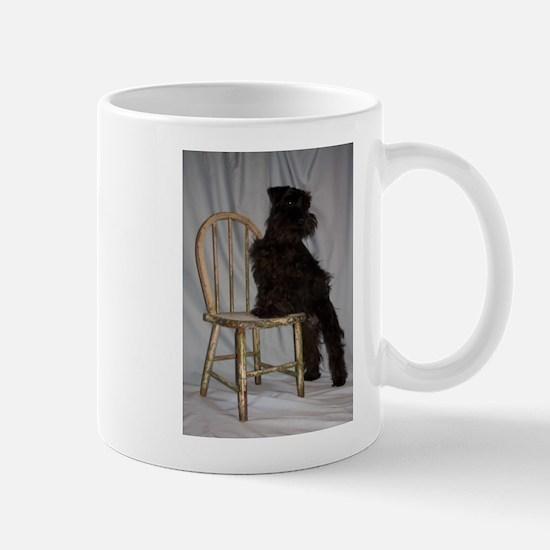 Black Miniature Schnauzer Puppy Mug