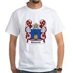 Luzinski Coat of Arms White T-Shirt