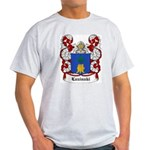Luzinski Coat of Arms Ash Grey T-Shirt