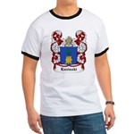 Luzinski Coat of Arms Ringer T