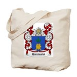 Luzinski Coat of Arms Tote Bag
