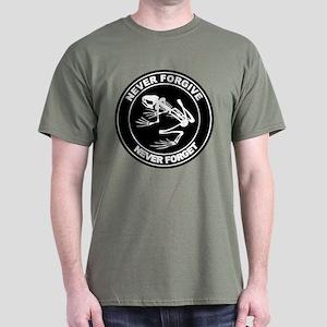 Desert Frog - Never Forgive Dark T-Shirt
