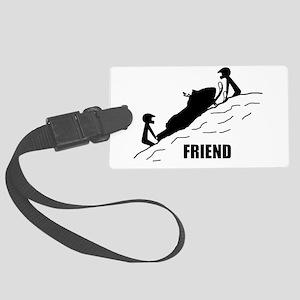 Friend / Best Friend Large Luggage Tag