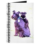 Black Schnauzer Puppy Love Journal
