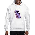 Black Schnauzer Puppy Love Hooded Sweatshirt