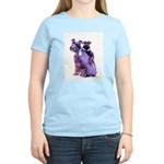 Black Schnauzer Puppy Love Women's Light T-Shirt