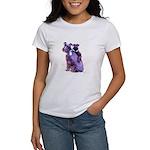 Black Schnauzer Puppy Love Women's T-Shirt