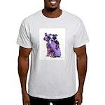 Black Schnauzer Puppy Love Light T-Shirt