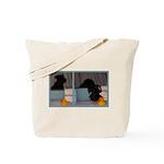 Black Mini Schnauzer Bath Tote Bag