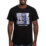 KYR Men's Fitted T-Shirt (dark)