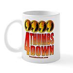 4 Thumbs Down Mug