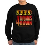 4 Thumbs Down Sweatshirt (dark)