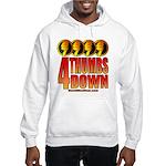 4 Thumbs Down Hooded Sweatshirt