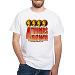 4 Thumbs Down White T-Shirt