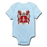 Lis Coat of Arms Infant Creeper