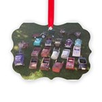 Pedal Cars Picture Ornament