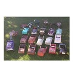 Pedal Cars Postcards (Package of 8)