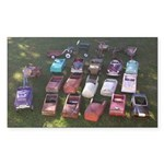 Pedal Cars Sticker (Rectangle 10 pk)