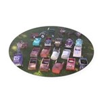 Pedal Cars Oval Car Magnet