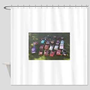 Pedal Cars Shower Curtain