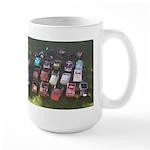 Pedal Cars Large Mug