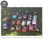 Pedal Cars Puzzle