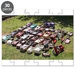Vintage Pedal Cars Puzzle