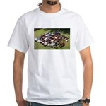 Vintage Pedal Cars White T-Shirt