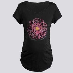 Get In Touch Maternity Dark T-Shirt