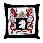 Lichtfuss Coat of Arms Throw Pillow