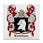 Lichtfuss Coat of Arms Tile Coaster