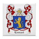 Lewart Coat of Arms Tile Coaster