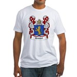 Lewart Coat of Arms Fitted T-Shirt