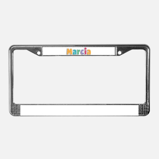 Marcia License Plate Frame