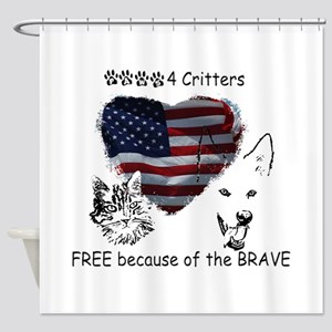 Paws4Critters Free Because of the Brave Shower Cur