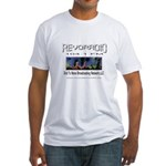 2nd to none broadcasting Fitted T-Shirt