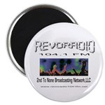 "Revoradio 104.1 Fm 2.25"" Magnet (100 pack)"
