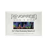 Revoradio 104.1 Fm Rectangle Magnet (100 pack)