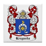 Krzywda Coat of Arms Tile Coaster
