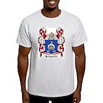 Krzywda Coat of Arms Ash Grey T-Shirt