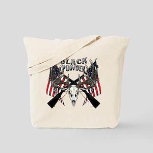 Black powder buck Tote Bag